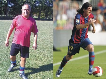 Messi y Calandrelli