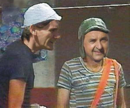 El Chavo y Don Ramón